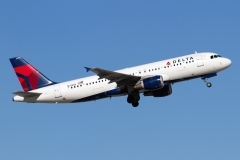 n313us Delta Air Lines Airbus A320-211