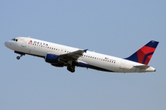 n321us Delta Air Lines Airbus A320-200