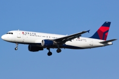 n337nw Delta Air Lines Airbus A320