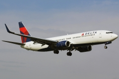 n383dn Delta Air Lines Boeing 737-800