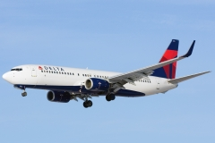 n383dn Delta Air Lines Boeing 737-800wl