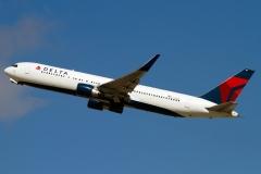 n181dn Delta Air Lines Boeing 767-300erwl