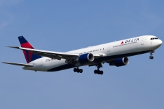 n837mh Delta Air Lines Boeing 767-432