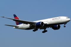 n710dn Delta Air Lines Boeing-777-200