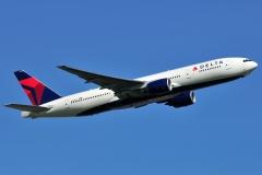 n864da Delta Air Lines Boeing-777-200er