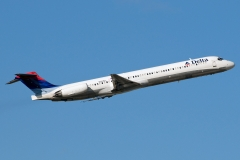 n921dl Delta Air Lines McDonnell Douglas MD-88
