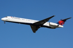 n954dl Delta Air Lines McDonnell Douglas MD-88