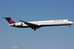n914dn Delta Air Lines McDonnell Douglas MD-90