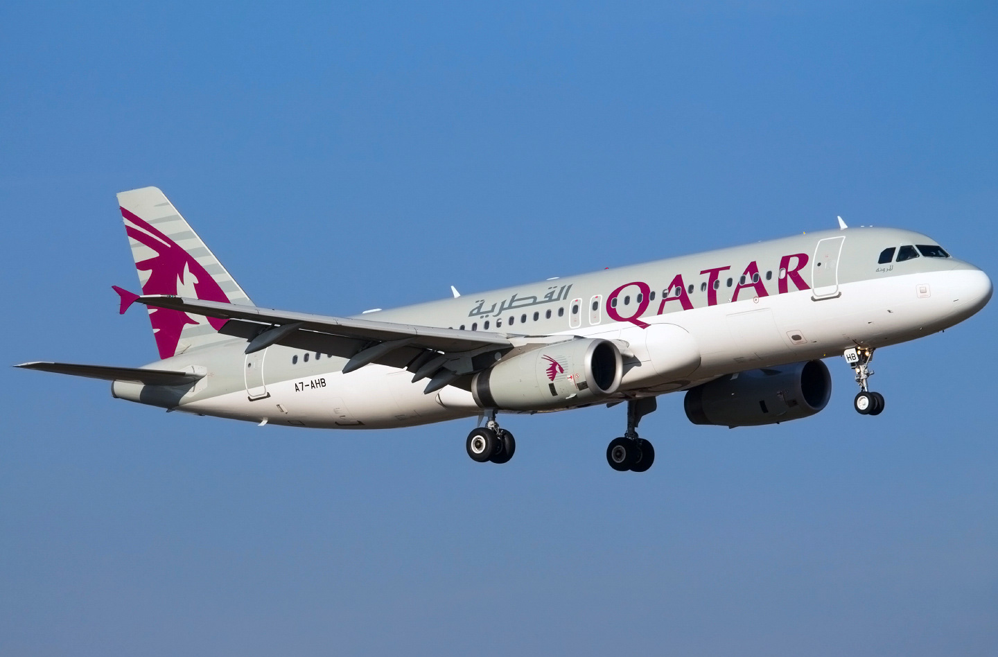 Airbus A320 200 Qatar Airways Photos And Description Of