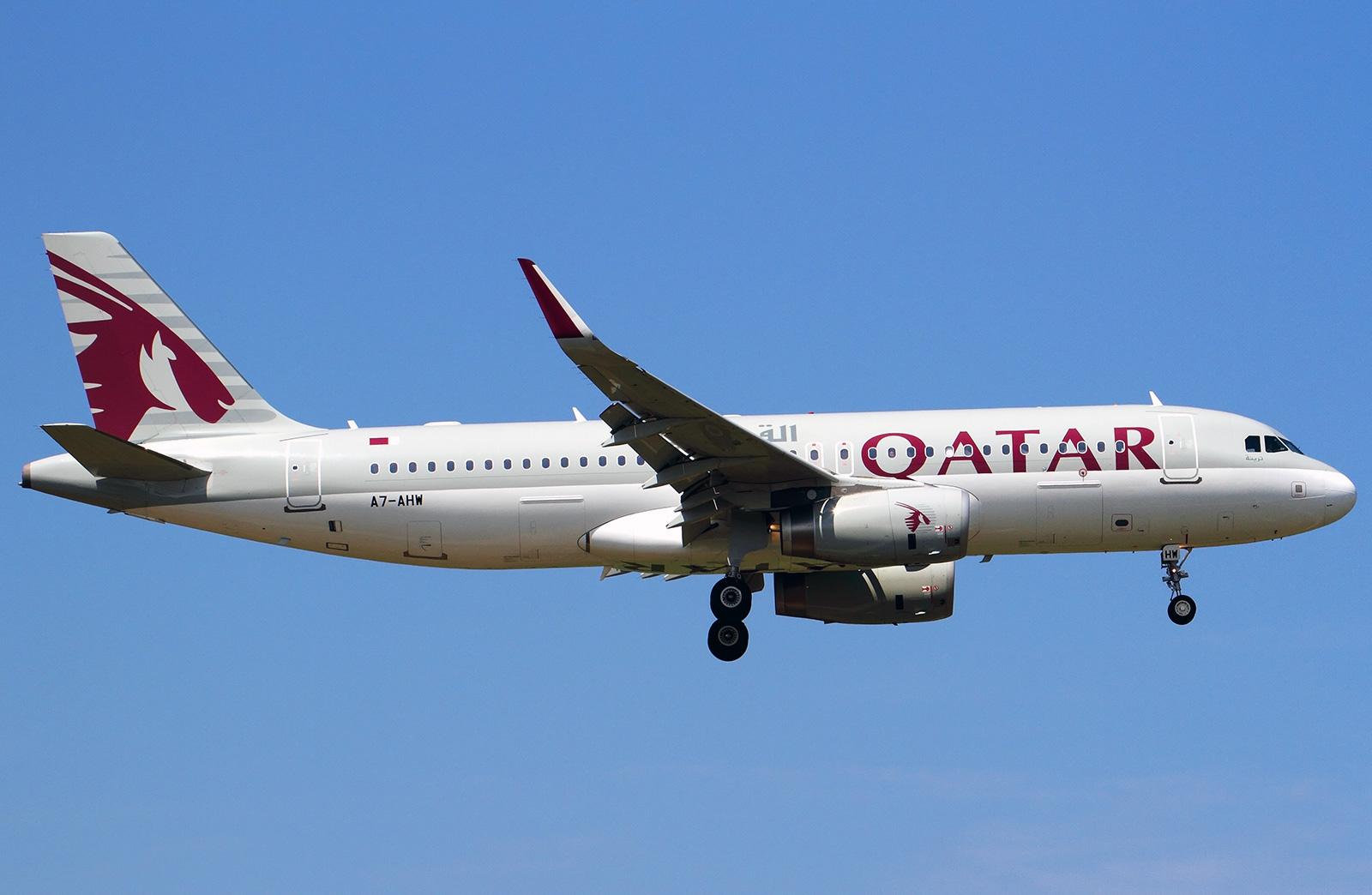 Airbus A320-200 Qatar Airways  Photos and description of the plane