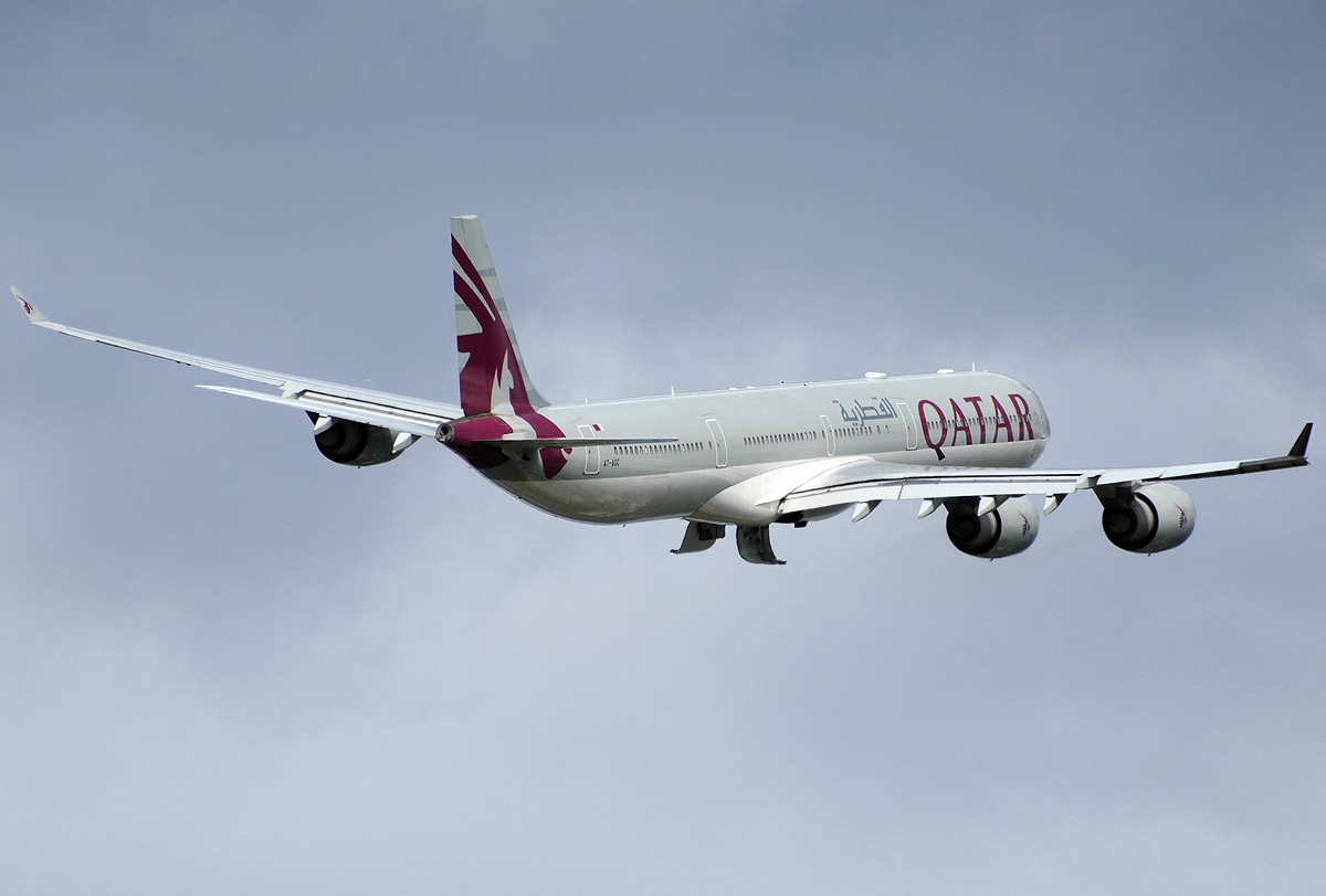 Airbus A340 600 Qatar Airways Photos And Description Of