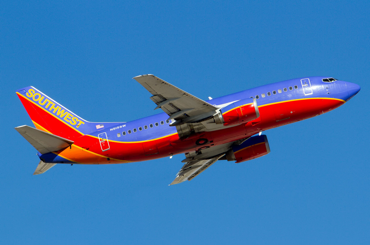 100 Southwest Airlines Fleet As Of The 737 Max Era