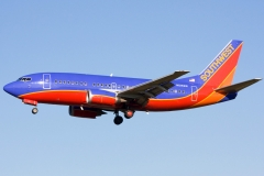 n514sw Southwest Airlines Boeing 737-5h4