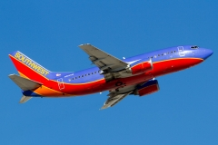 n515sw Southwest Airlines Boeing 737-5h4