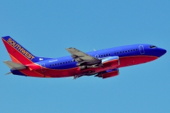 n521sw Southwest Airlines Boeing 737-5h4