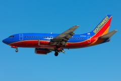 n522sw Southwest Airlines Boeing 737-500