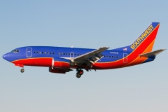n525sw Southwest Airlines Boeing 737-5h4