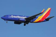 n708sw Southwest Airlines Boeing 737-700l