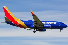 n708sw Southwest Airlines Boeing 737-7h4
