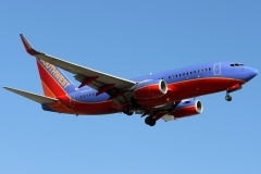 n708sw Southwest Airlines Boeing 737-700wl