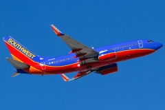 n716sw Southwest Airlines Boeing 737-7h4