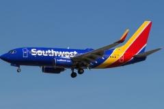 n7711n Southwest Airlines Boeing 737-76nwl