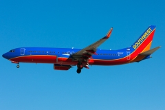 n8302f Southwest Airlines Boeing 737-8h4wl