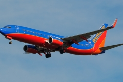 n8328a Southwest Airlines Boeing 737-8h4wl