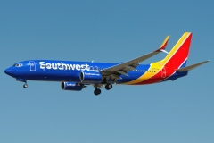 n8643a Southwest Airlines Boeing 737-8h4