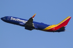 n8645a Southwest Airlines Boeing 737-800