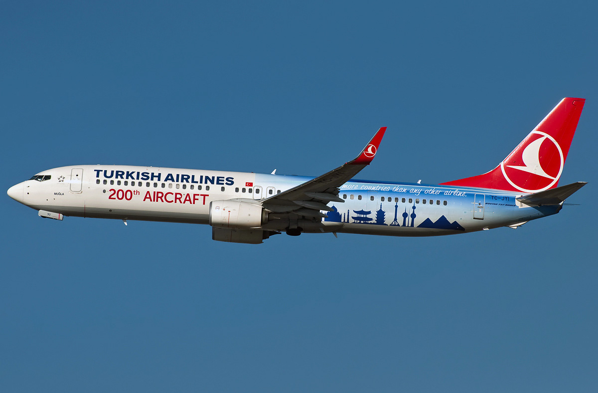 Boeing 737 900 Turkish Airlines Photos And Description Of