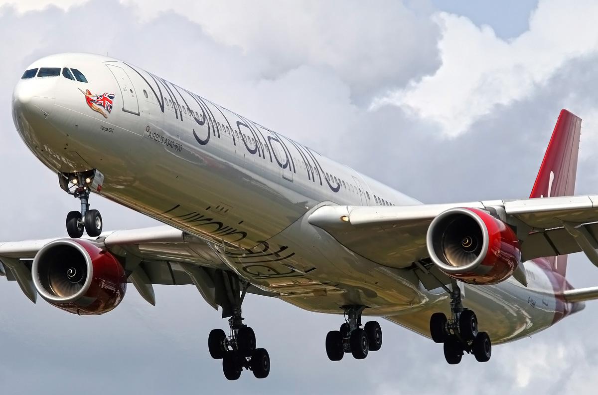 Airbus A340 600 Virgin Atlantic Photos And Description Of