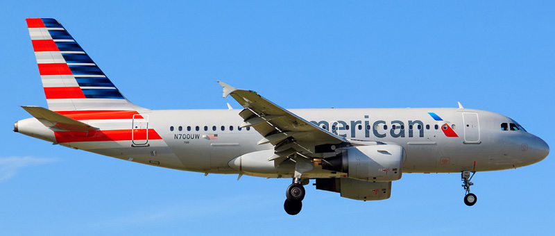 Airbus A319 American Airlines. Photos and description of the plane