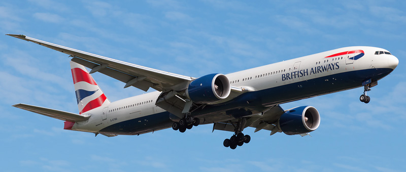 Boeing 777-300 British Airways
