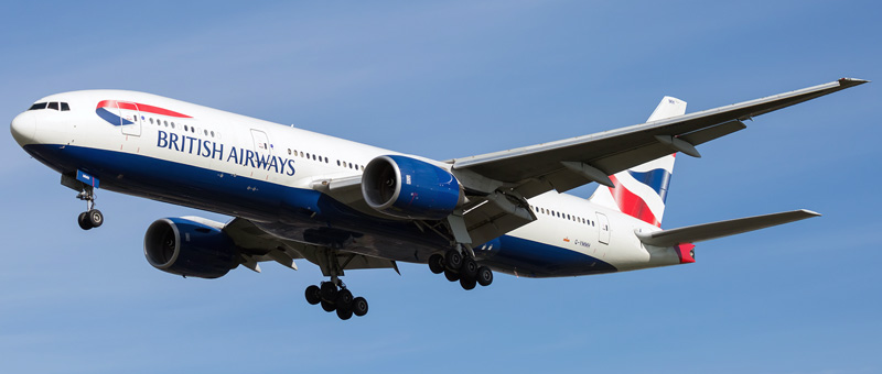 Boeing 777-200 British Airways