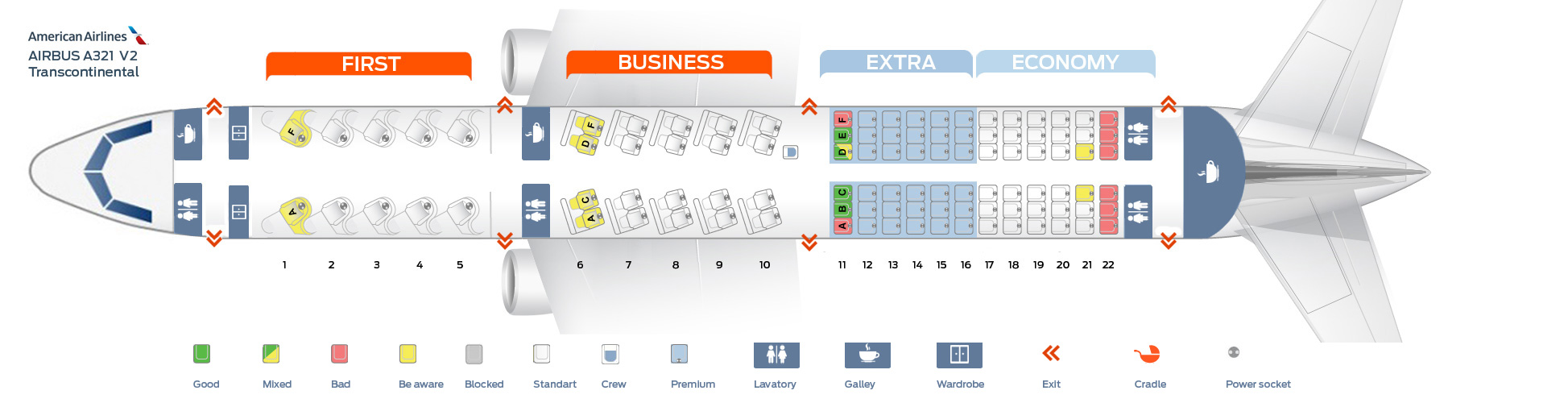 Seat Map Of The Airbus A321 American Airlines. Americanairlinesairbusa321ver2. Seat. Airplane Seating Schematic At Scoala.co