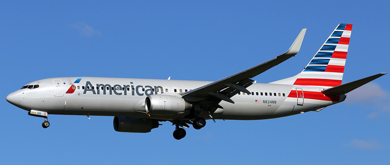 Boeing 737-800 American Airlines. Photos and description of the plane