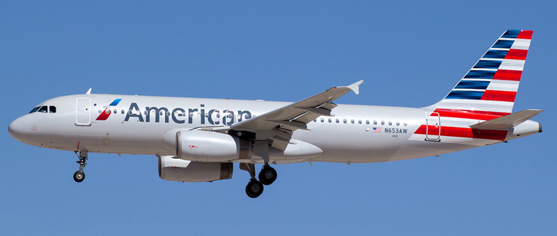 Airbus A320 American Airlines. Photos and description of the plane