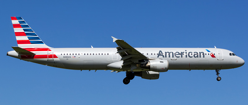 Airbus A321-200 – American Airlines. Photos and description of the plane