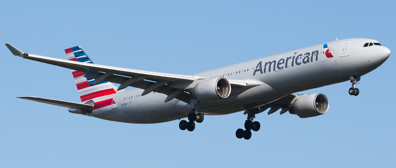 """Seat map Airbus A330-300 """"American Airlines"""". Best seats in the plane"""