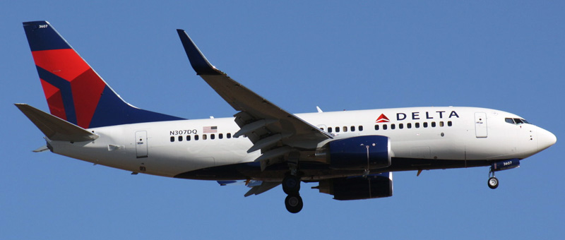 Boeing 737-700 Delta Airlines. Photos and description of the plane