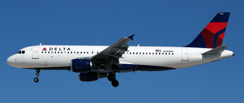 Airbus A320-200 Delta Airlines. Photos and description of the plane