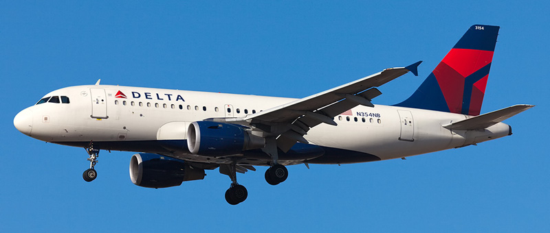 Airbus A319-100 Delta Airlines. Photos and description of the plane
