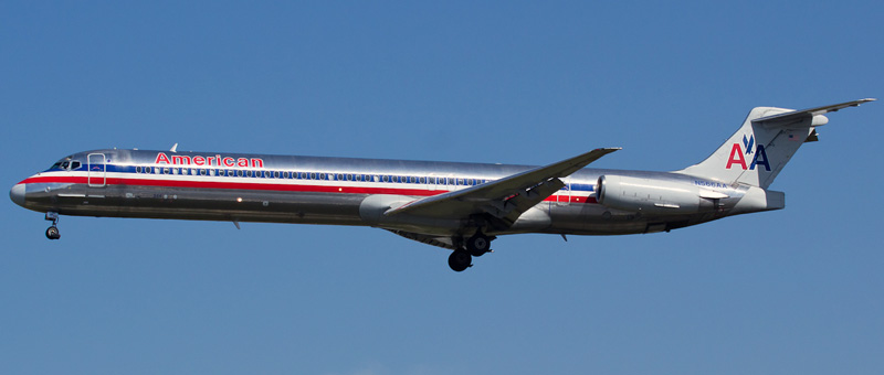 Mcdonnell douglas md 83 american airlines photos and for American airlines plane types