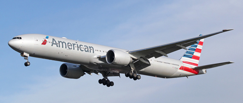 Boeing 777-300 American Airlines. Photos and description of the plane