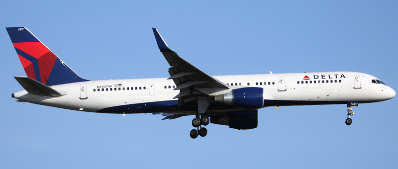 Boeing 757-200 Delta Airlines. Photos and description of the plane