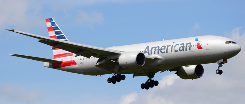 Boeing 777-200 American Airlines. Photos and description of the plane