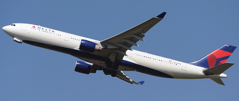 Airbus A330-300 Delta Airlines. Photos and description of the plane