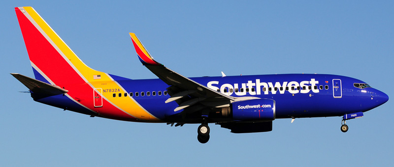 Boeing 737-700 Southwest Airlines. Photos and description of the plane
