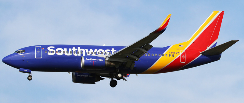 Boeing 737-300 Southwest Airlines. Photos and description of the plane